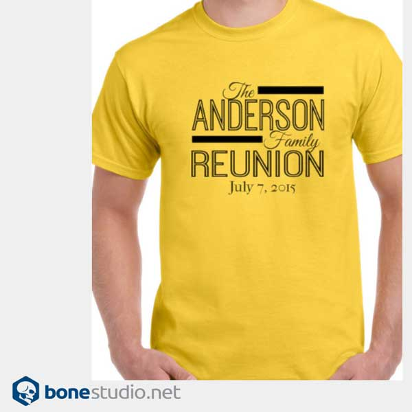 T Shirts For Family Reunion Cheap