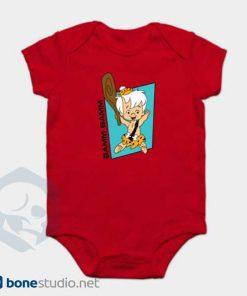 The Flintstones Onesie Bamm Bamm Cute Red Baby Onesie
