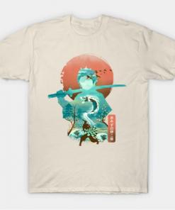 Ukiyo e Breath of Water T-Shirt
