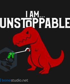 Unstoppable T-Rex Dinosaur Onesie