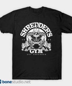 shredder's gym shirt