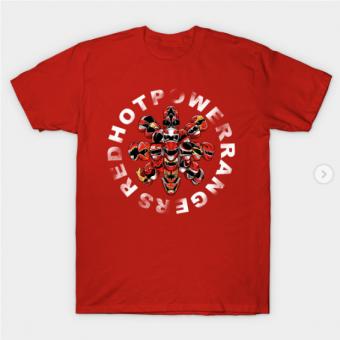 Calimorphication T-Shirt red for men