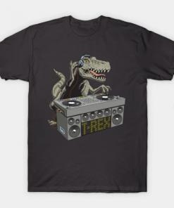 Dj Rex T-Shirt black for men