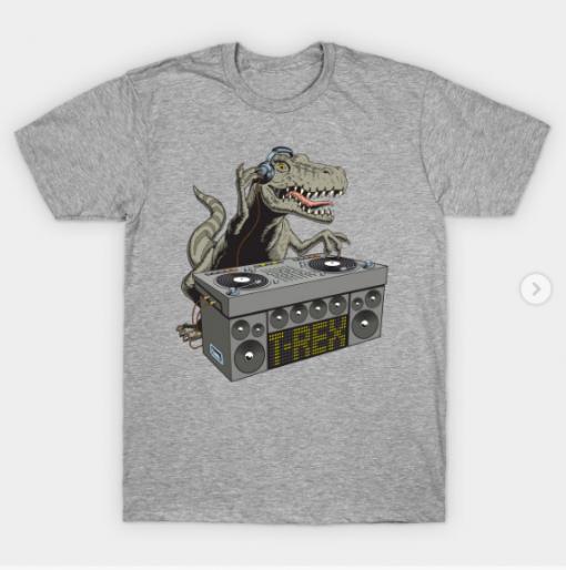 Dj Rex T-Shirt heather for men