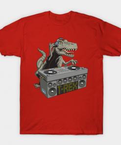 Dj Rex T-Shirt red for men