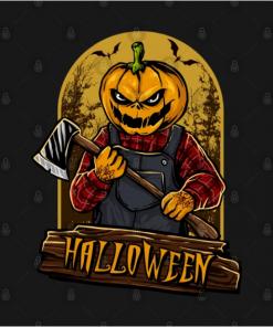 Halloween T-Shirt black design