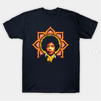 Jim Flower T-Shirt black for men