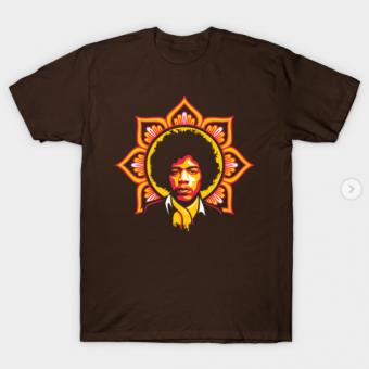 Jim Flower T-Shirt brown for men