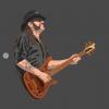 Lemmy Motorhead T-Shirt for men grey color design
