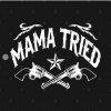 Mama Tried black design