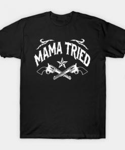 Mama Tried black for men