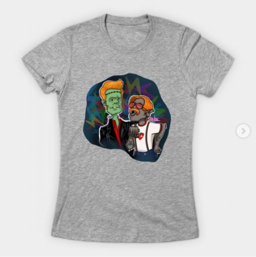 Monster Rock T-Shirt heather for women