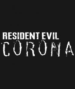 Resident Evil Corona T-Shirt black design