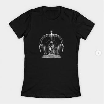 Silence T-Shirt black for women