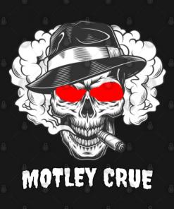 Skull MTL T-Shirt for men black color design