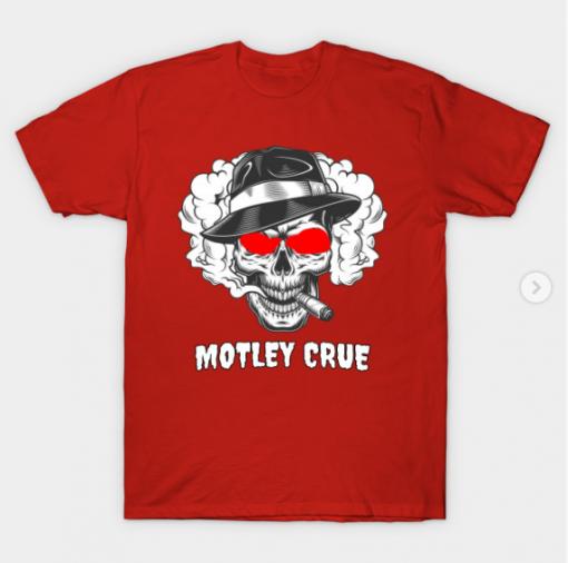 Skull MTL T-Shirt for men red color