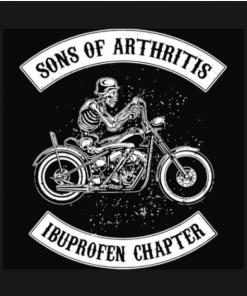 Sons Of Arthritis T-Shirt black design