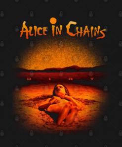 Alice in Chains - Dirt T-Shirt black design