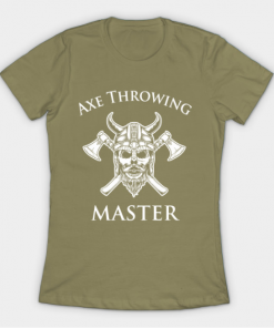 Axe Throwing Master light olive for women