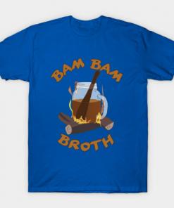 Bam Bam Broth T-Shirt royal blue for men
