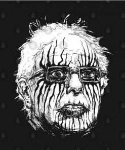 Black Metal Bernie T-Shirt black design