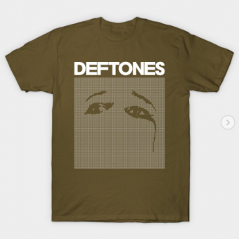 Deftones Ohms T-Shirt military green for men