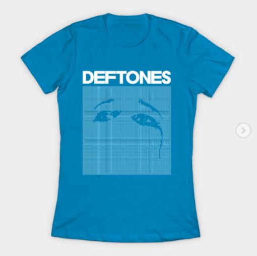 Deftones Ohms T-Shirt teal for women