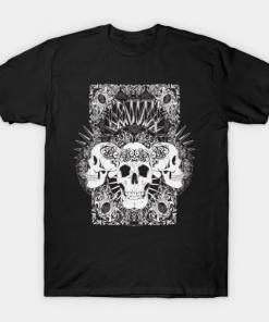 Entity Skulls T-Shirt black for men