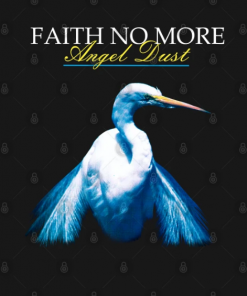 Faith No More - Angel Dust T-Shirt black design