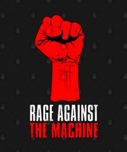 Hand the machine T-Shirt black design