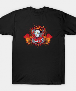 Hearts of Death Dragon Queen T-Shirt black for men