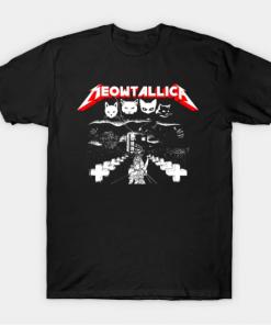 Meowtallica T-Shirt black for men