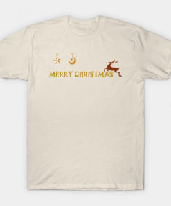 Merry Christmas Shirt T-Shirt creme for men