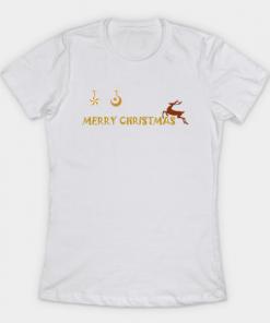 Merry Christmas Shirt T-Shirt white for women