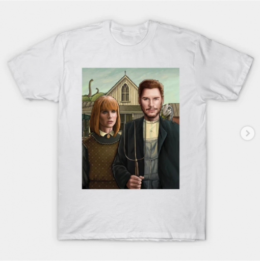 Owen and Claire T-Shirt White for men