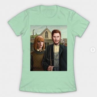 Owen and Claire T-Shirt mint for women