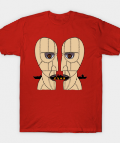 Pink Floyd Division Bell T-Shirt red for men