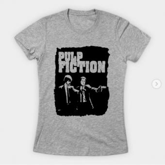 Pulp Fiction T-Shirt heather for women