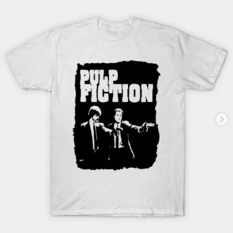 Pulp Fiction T-Shirt white for men