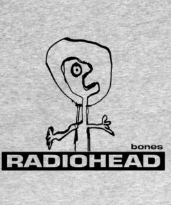 RadioBones T-Shirt heather design