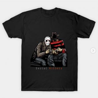Serial Killers T-Shirt black for men