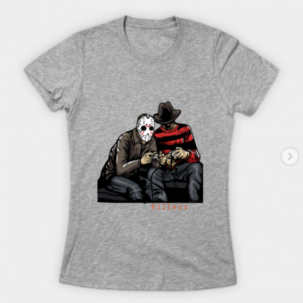 Serial Killers T-Shirt heather for women