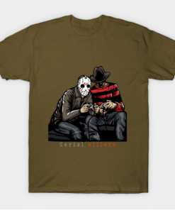 Serial Killers T-Shirt military green for men
