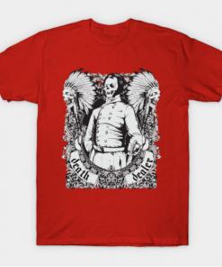 Skulls Of Tears - Death Dealer T-Shirt red for men
