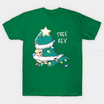 Tree Rex T Shirt kelly for men 1