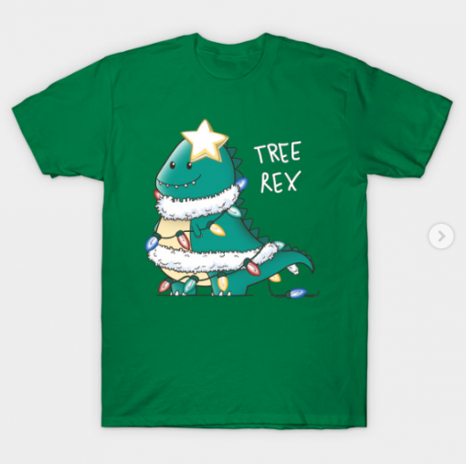 Tree-Rex T-Shirt kelly for men