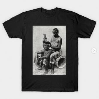 Zanzibar women T-Shirt black for men