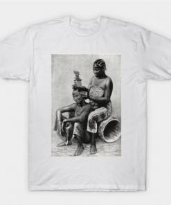 Zanzibar women T-Shirt white for men