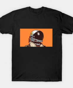 cosmonaut T-Shirt Black for men