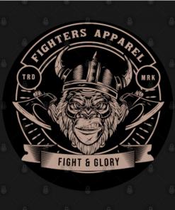 fighters apparel T-Shirt black design